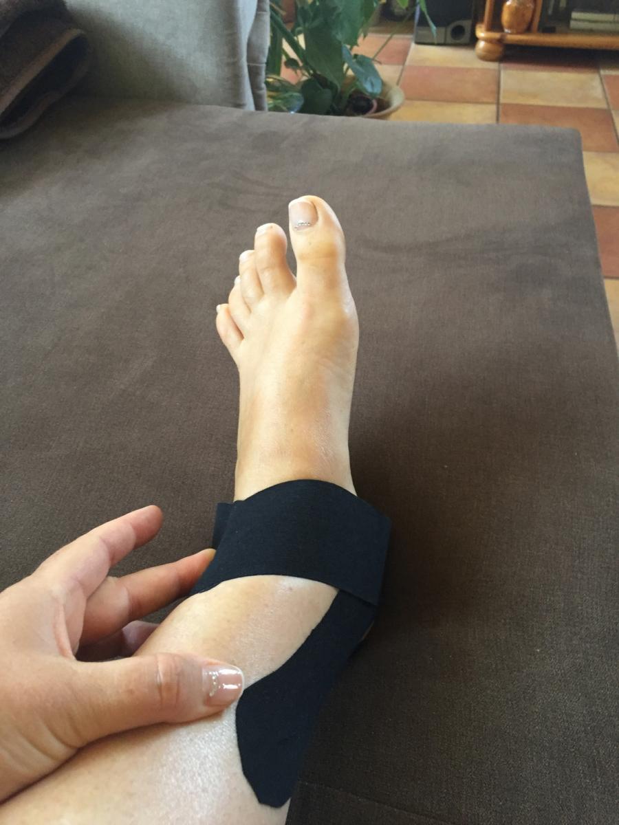 Acut tape kineziológai tapasz boka fájdalom