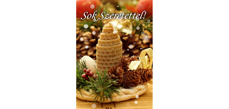 Therapy Massage karácsonyi ajándékkártya előlap