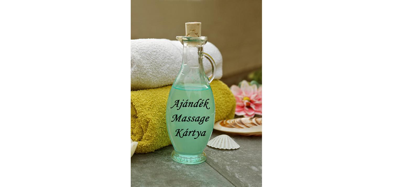 Therapy Massage masszázs ajándékkártya előlap
